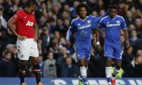 """Видео: """"Челси"""" уверенно расправился с """"Манчестер Юнайтед"""" благодаря хет-трику Это'О"""